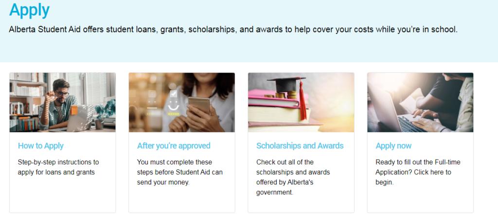 alberta student loans application