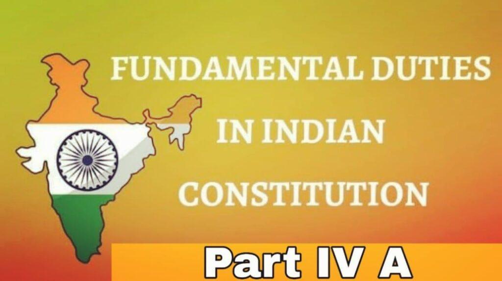 fundamental duties of indian constitution