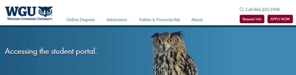 wgu student portal