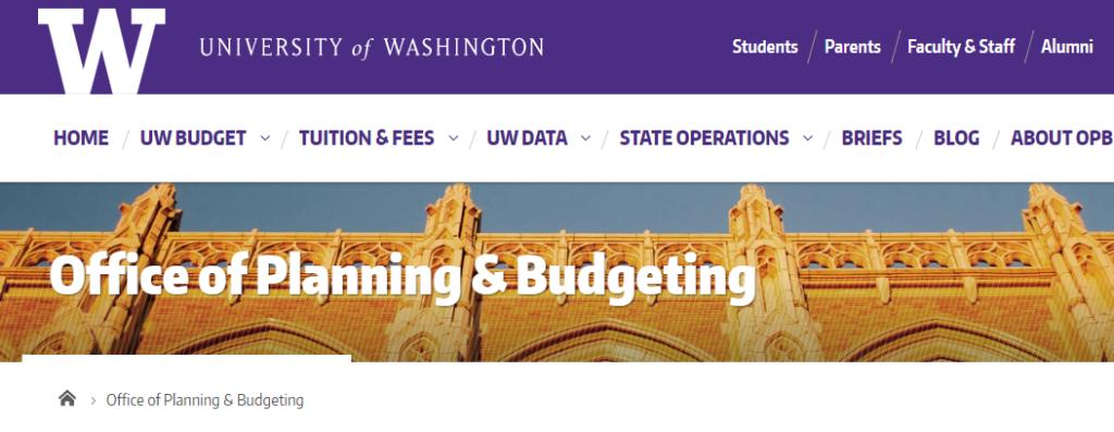 university of washington tuition
