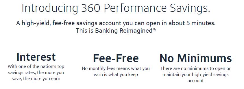 Capital One 360 Performance Savings