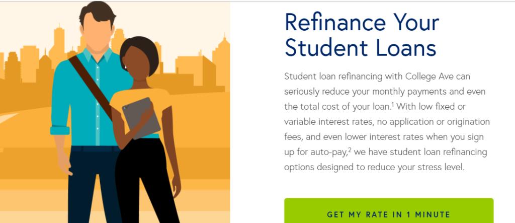 college avenue student loans refinance
