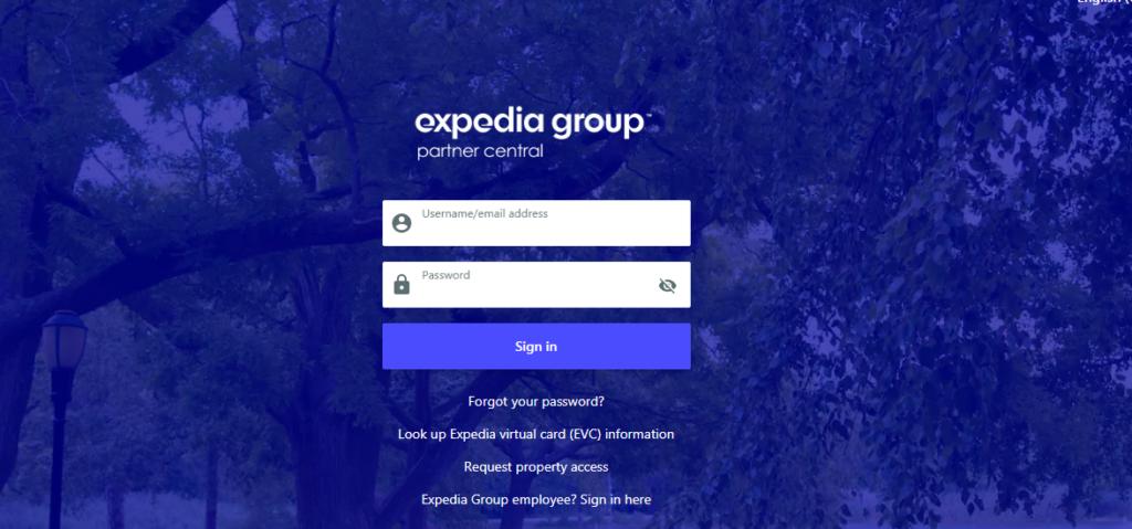 expedia extranet