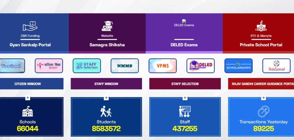 shala darpan portal services
